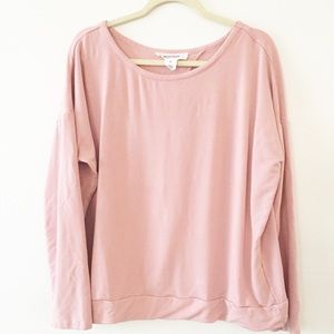 Workshop rose long sleeve with cut out back